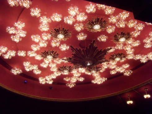 Austrian Crystal Chandelier in the Opera House