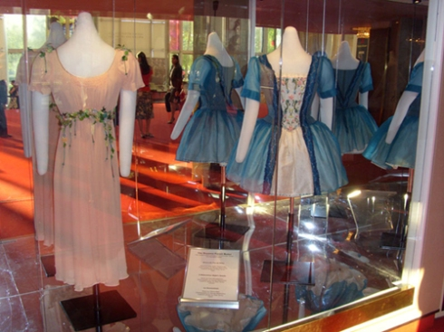 Costumes from A Midsummer Night's Dream and La Sonnambula